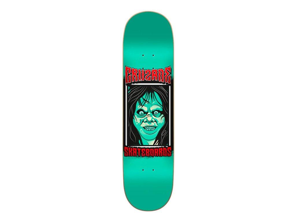 cruzade face green skate tabla
