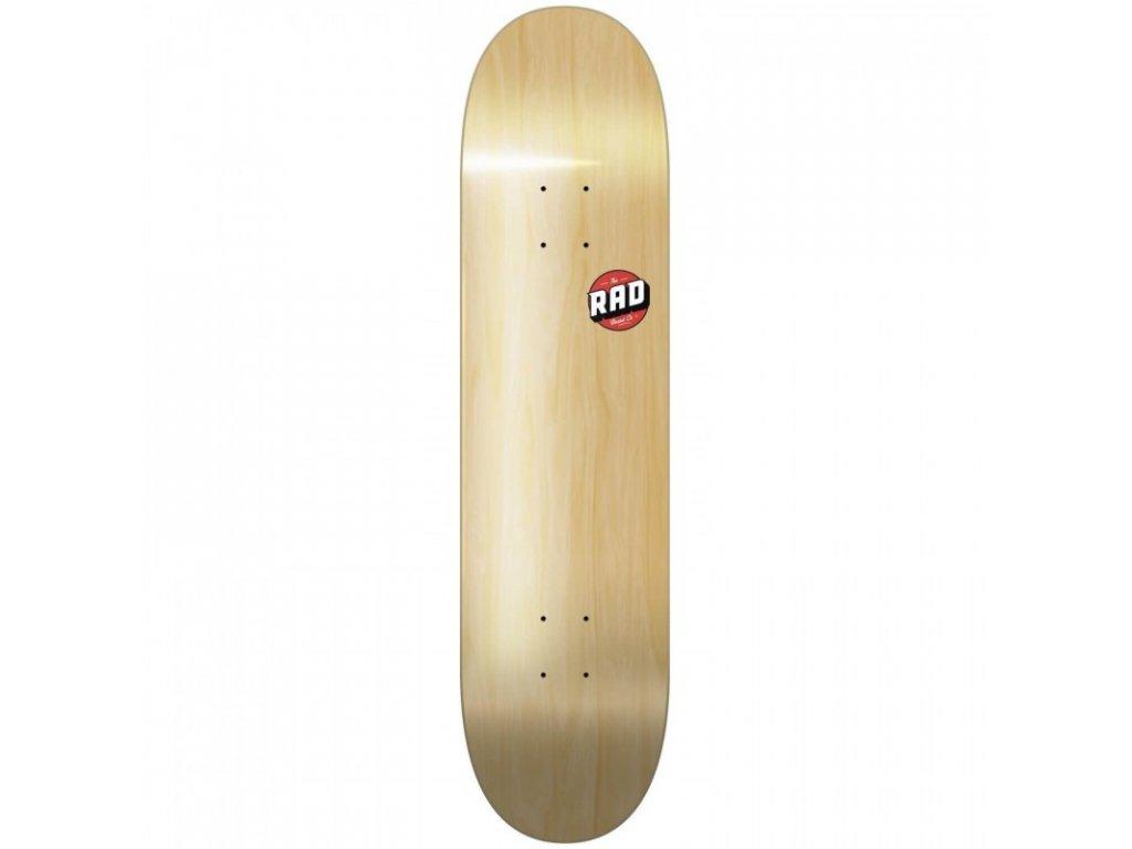 rad blank logo wood 8125 deck