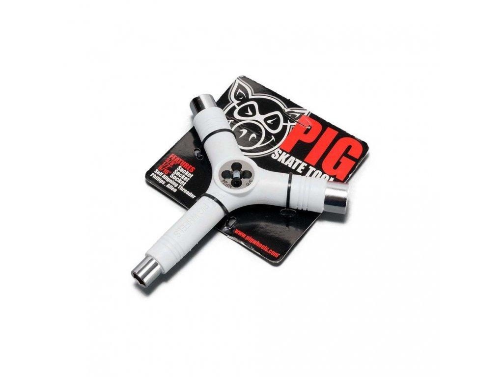 12062267 naradi PIG WHEELS Tri Socket Threader Tool White