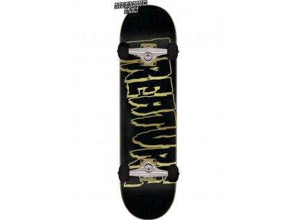 creature skateboard komplett logo outline large black vorderansicht 0162508 600x600