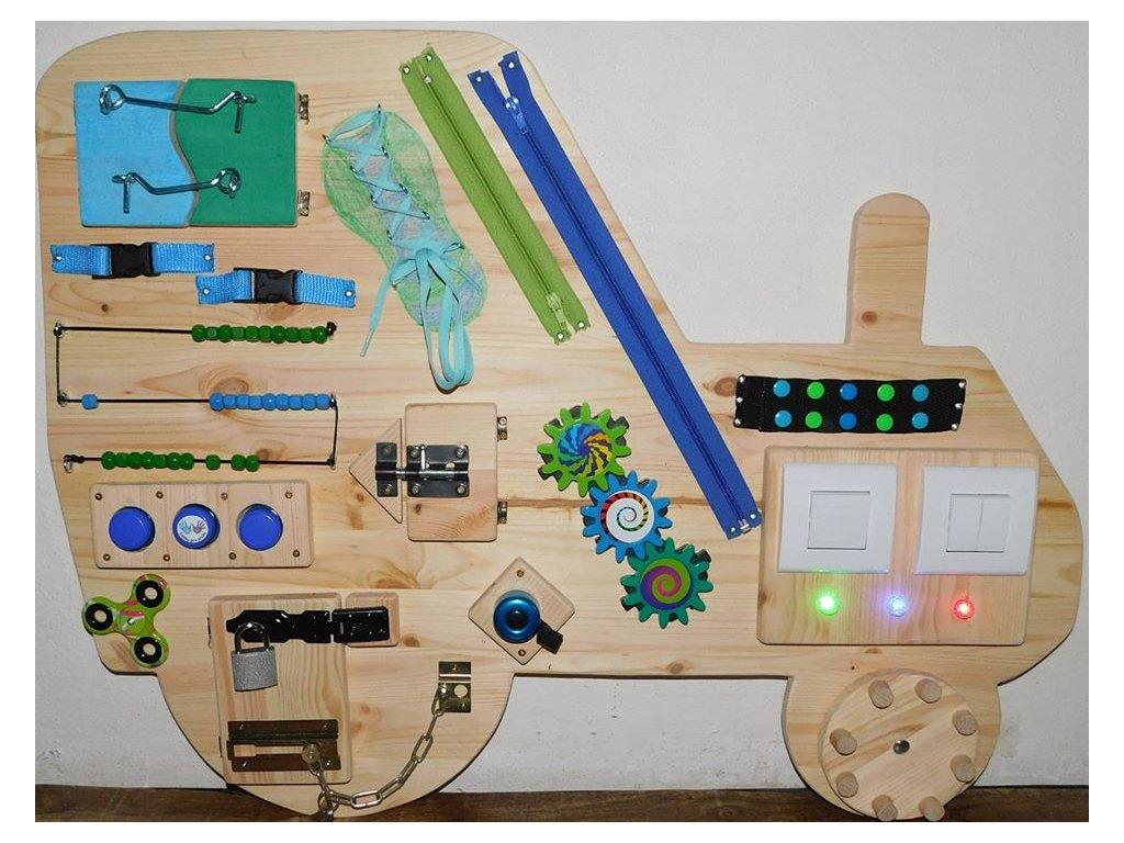 activity board traktor pro chlapečka