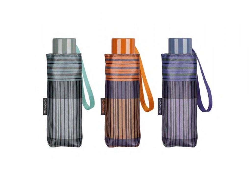 dámský proužkovaný mini deštník