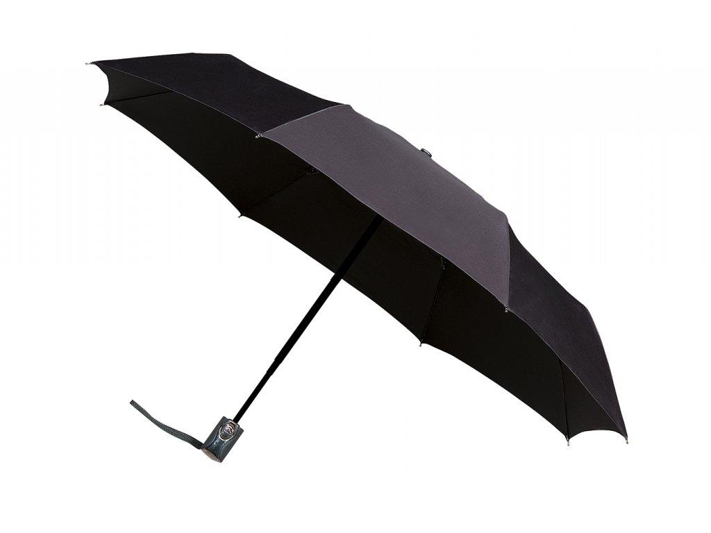 černý plně automatický deštník minimax