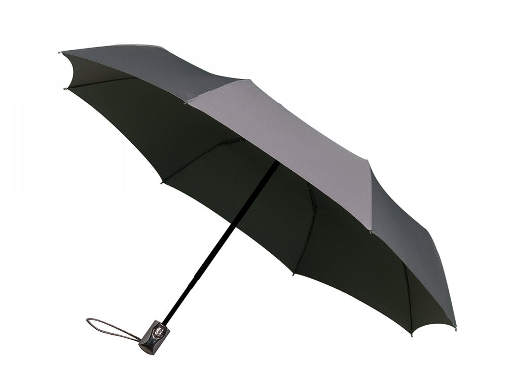 šedý plně automatický deštník minimax