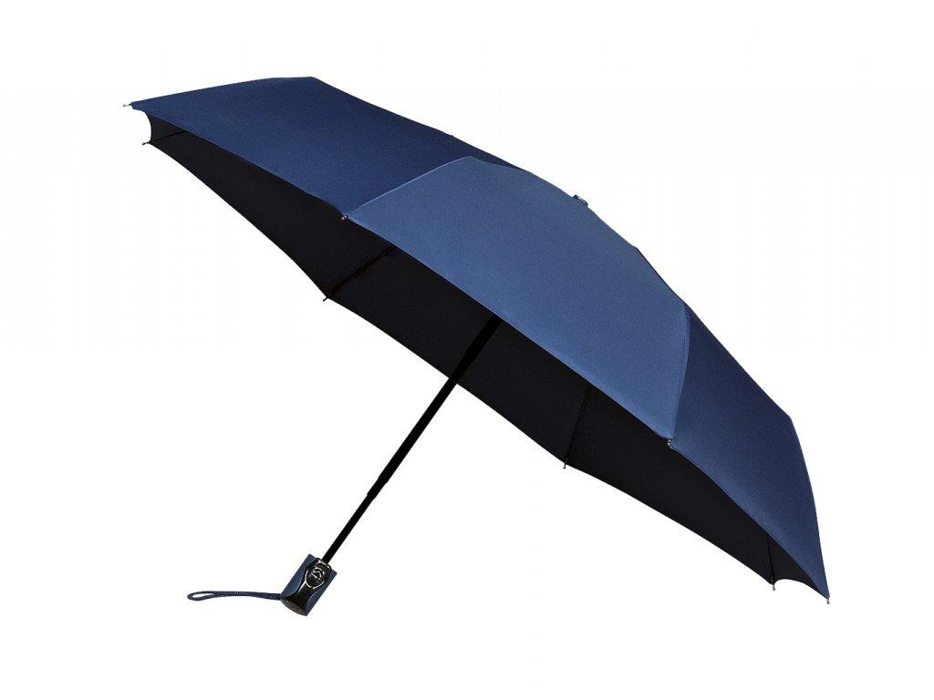 tmavě modrý plně automatický deštník minimax
