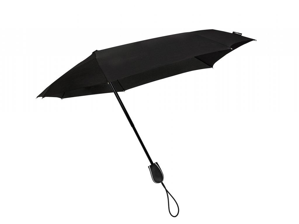 Stormini větruodolný skládací deštník černý