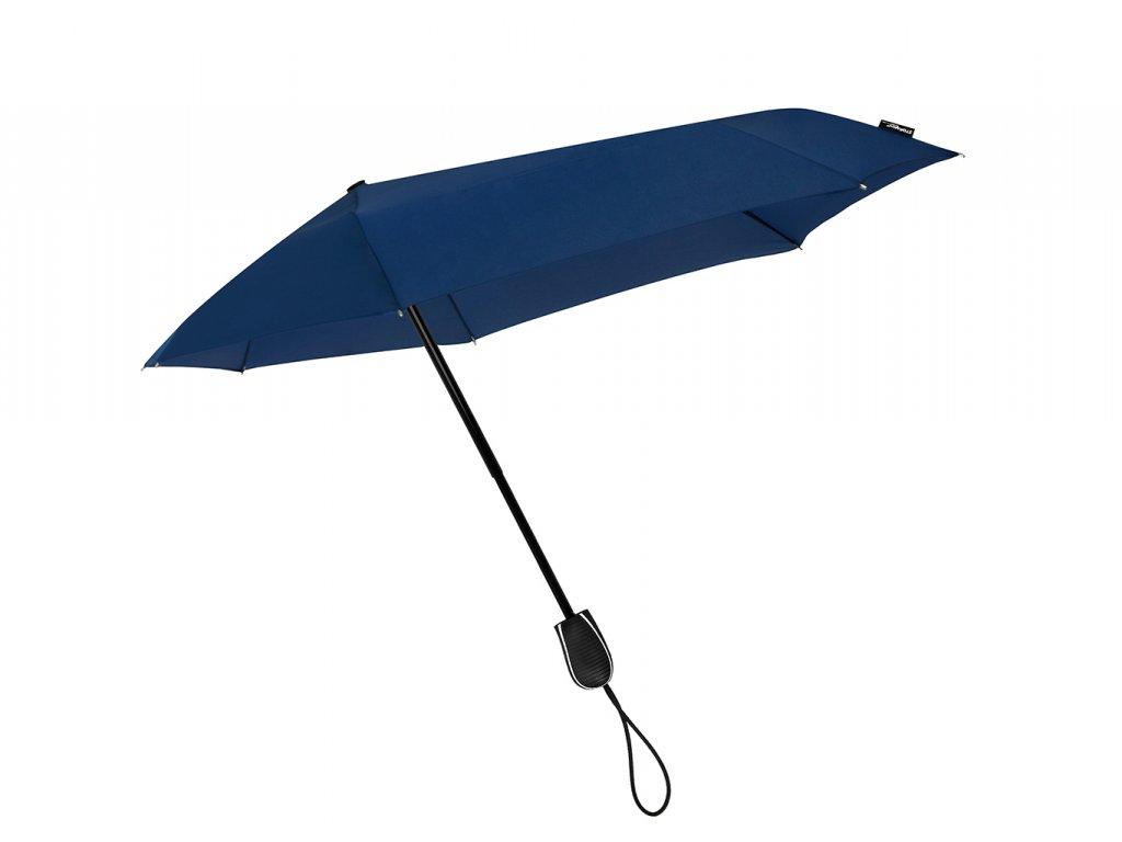 Stormini větruodolný skládací deštník modrý