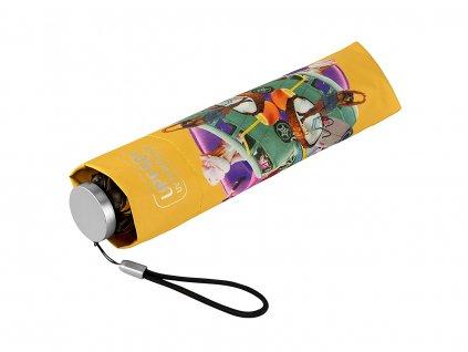 MiniMAX Personal Yellow složený deštník s UV ochranou