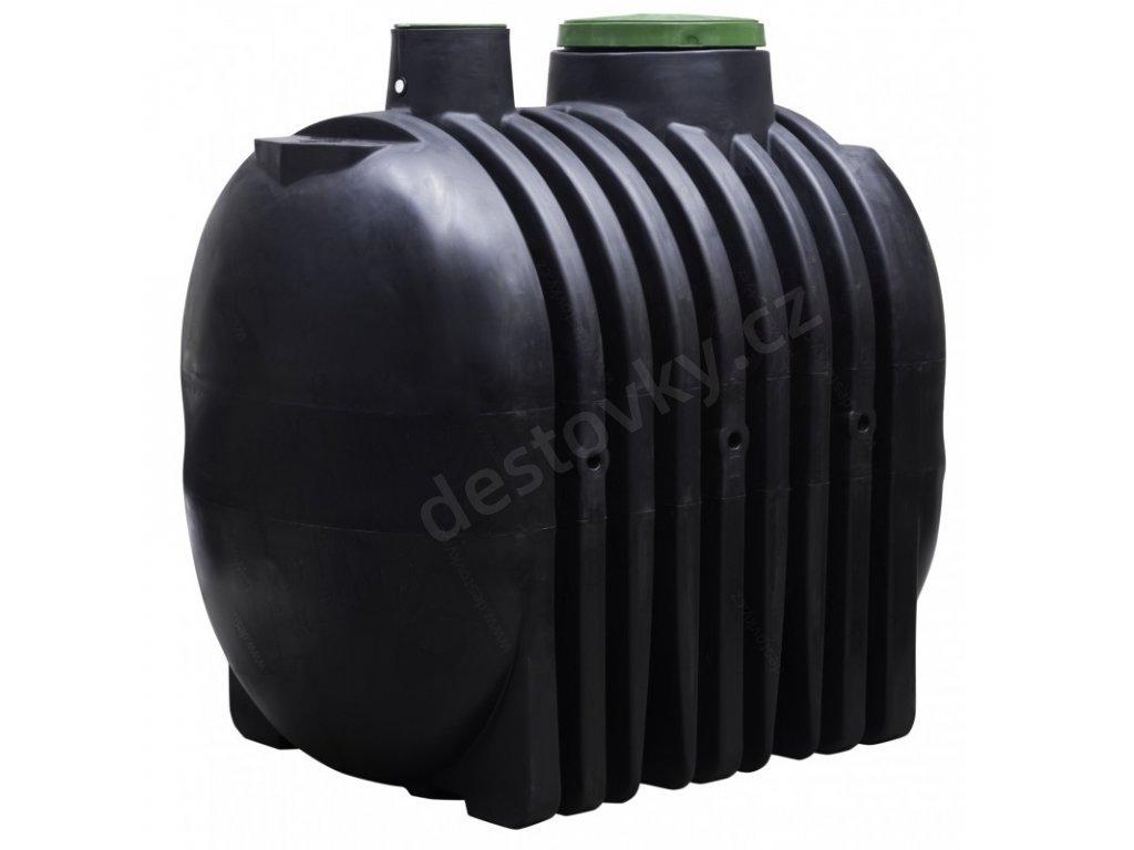 Akumulační plastová nádrž na dešťovou vodu Water-line 4000l