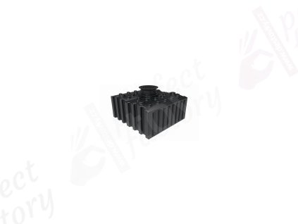 Akumulační plochá plastová nádrž na dešťovou vodu AQUA 5000 litrů SESTAVA AQUA II