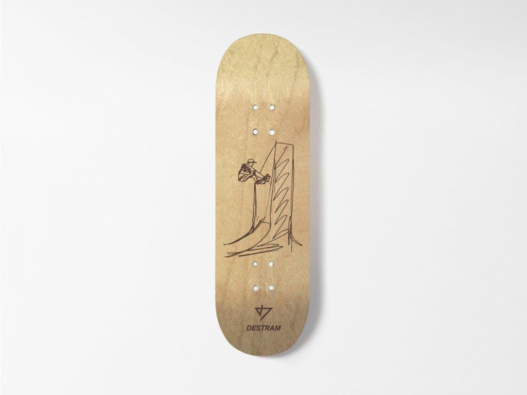 Dřevěná fingerboard deska SKETCH Wallride