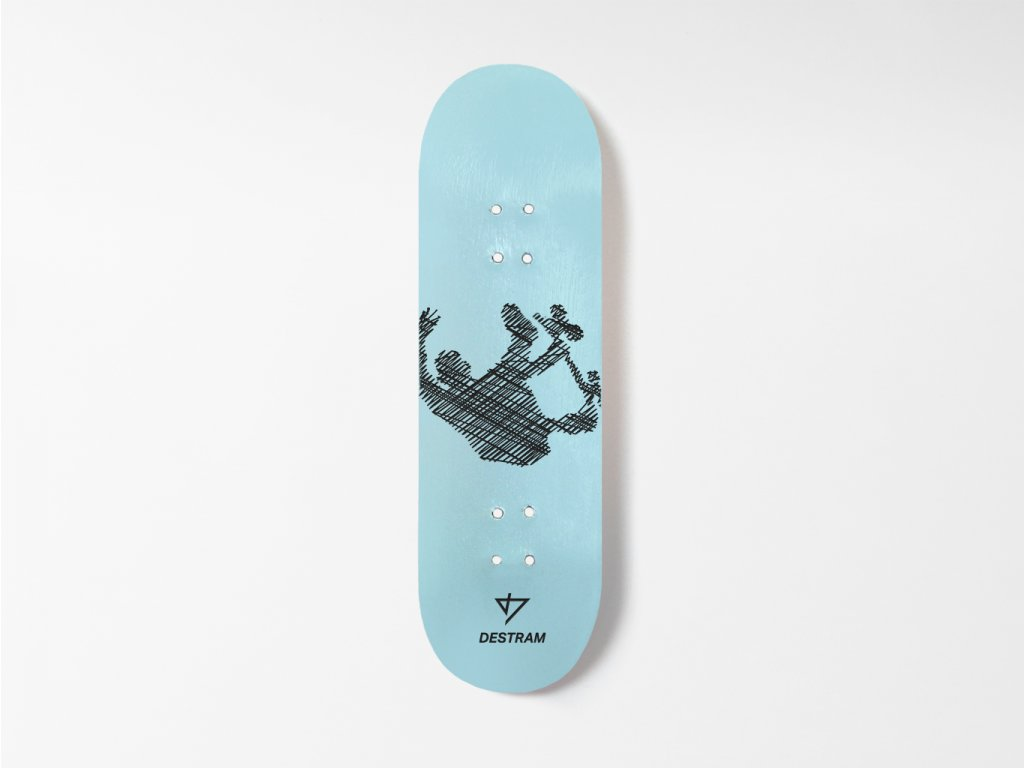 Dřevěná fingerboard deska LINE Backflip