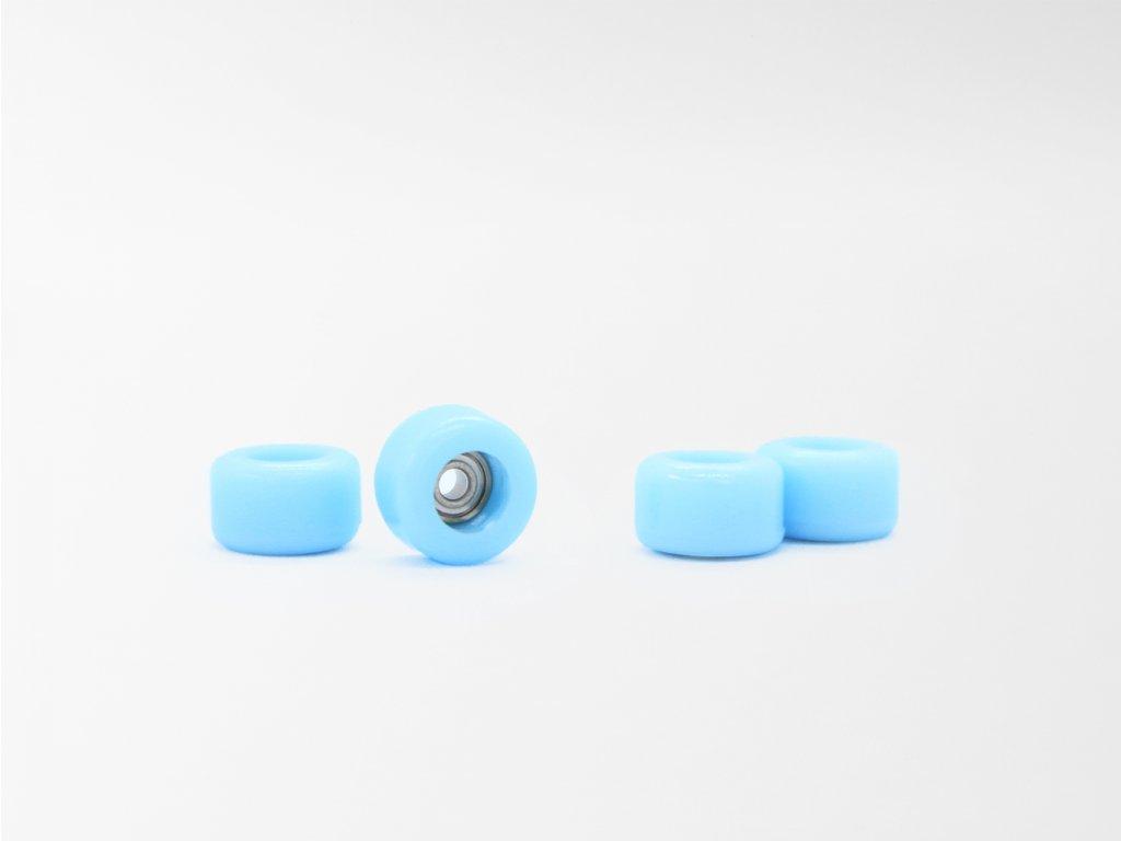 Fingerboard kolečka - Světle modrá