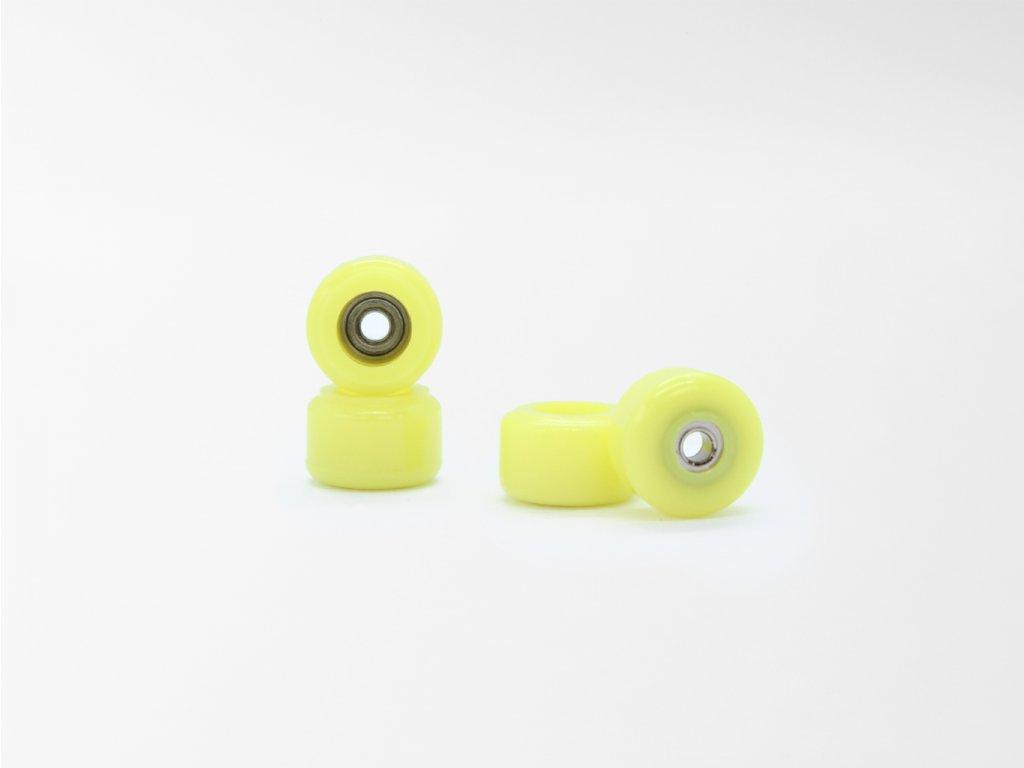 Fingerboard kolečka - Žlutá