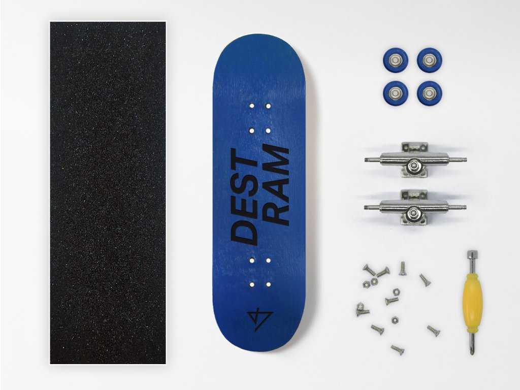 Dřevěný fingerboard komplet Destram TYPO