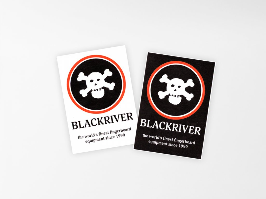 Samolepka Blackriver 1999 titulka