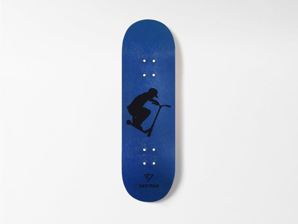 Dřevěná fingerboard deska SCOOT Tailgrab