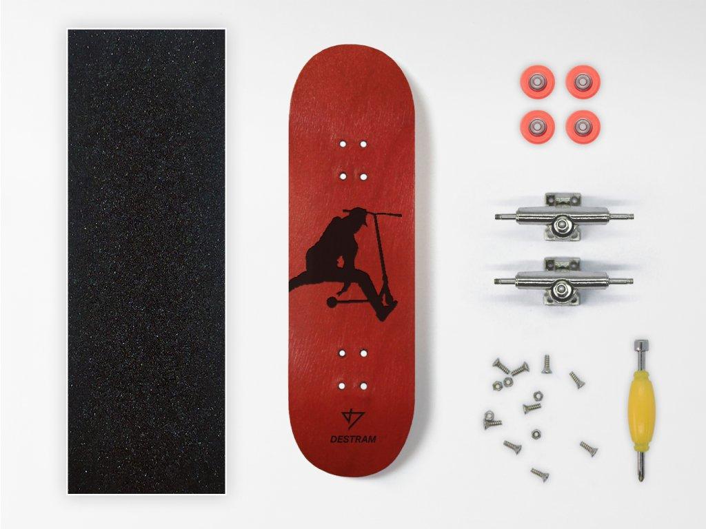 Dřevěný fingerboard komplet SHADOW Finger Whip