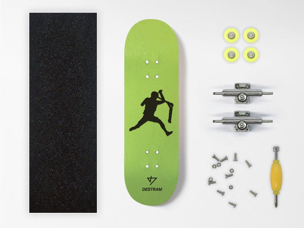 Dřevěný fingerboard komplet SCOOT Bri Flip