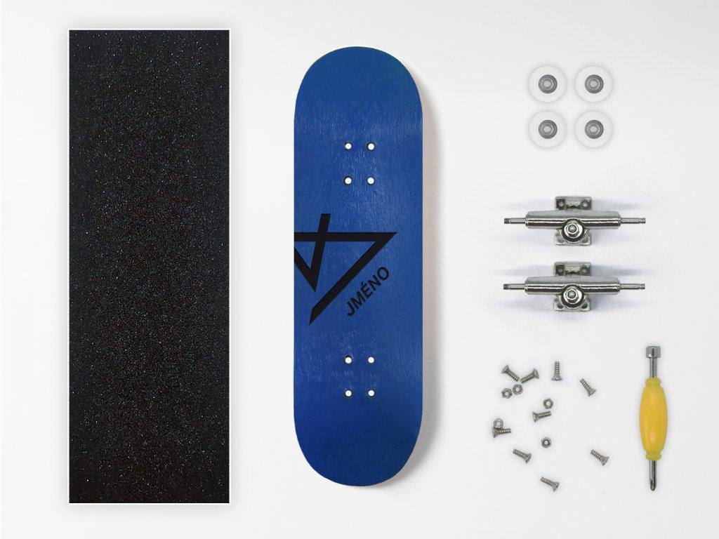 Dřevěný fingerboard komplet s vlastním jménem