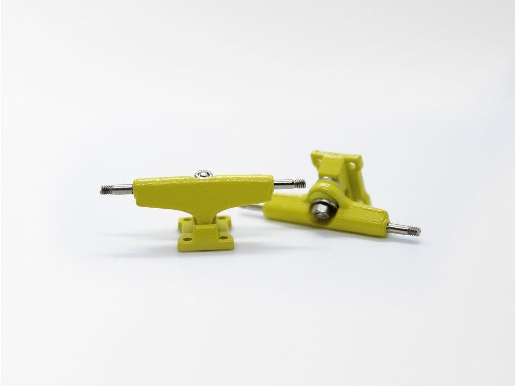 Fingerboard trucky Regular - Žluté 28 mm