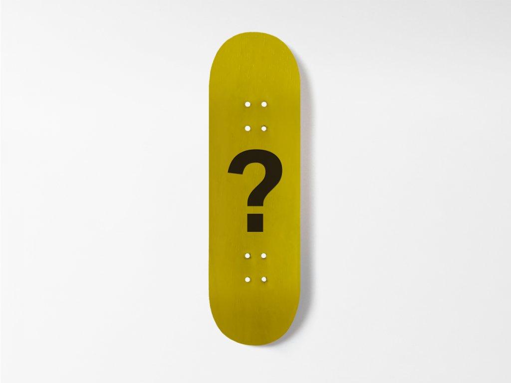 Dřevěná fingerboard deska s vlastním motivem