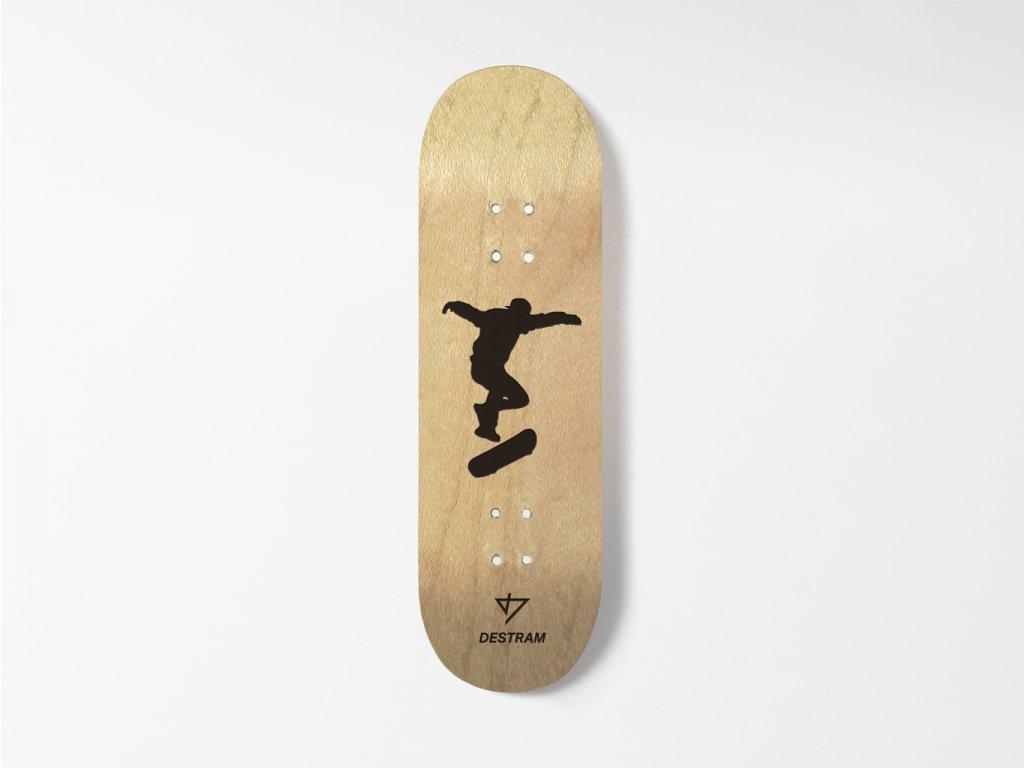 Dřevěná fingerboard deska SHADOW 360 Flip