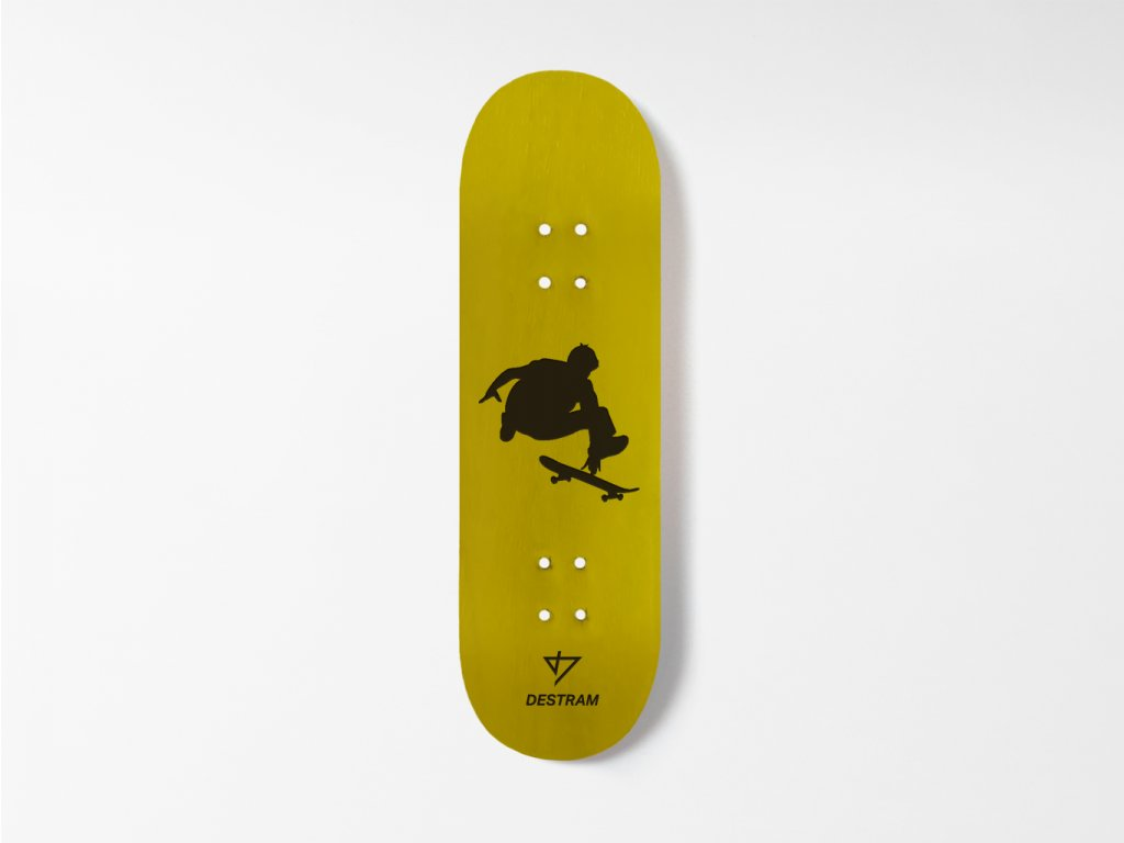 Dřevěná fingerboard deska SHADOW Heelflip