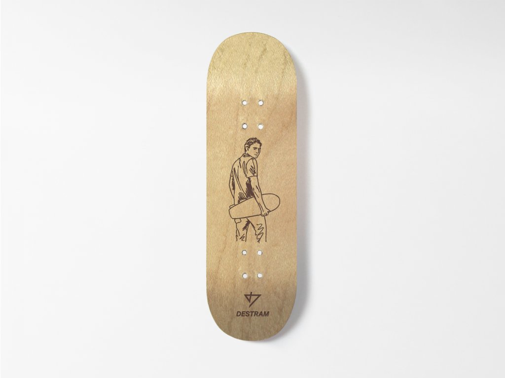Dřevěná fingerboard deska SKETCH Sk8 boy