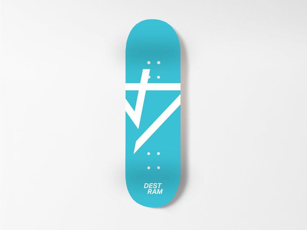 Dřevěná fingerboard deska TEAM Heavy