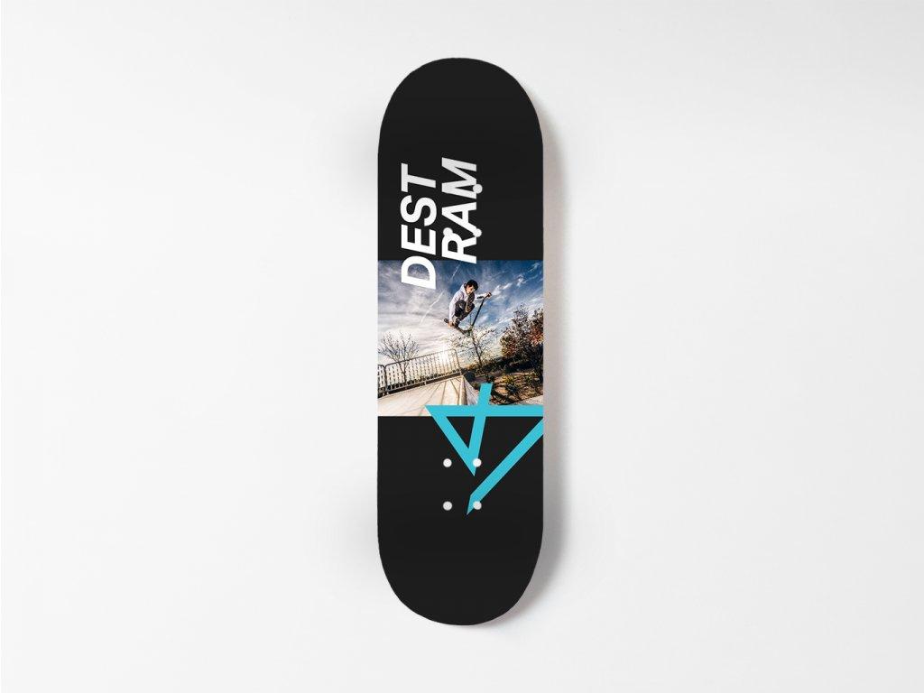 Dřevěná fingerboard deska TEAM Sct