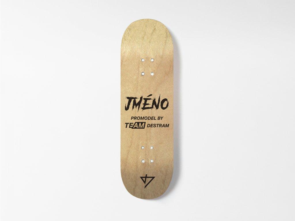 Dřevěná fingerboard deska - Promodel
