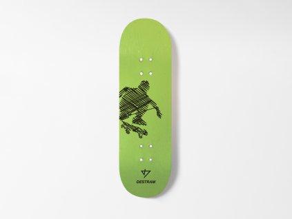 Dřevěná fingerboard deska LINE Kickflip