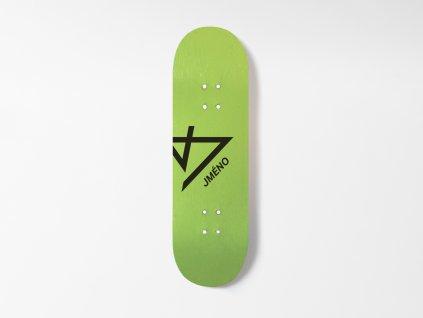 Dřevěná fingerboard deska s vlastním jménem