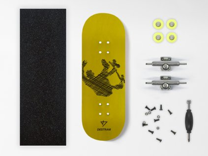 Dřevěný fingerboard komplet LINE Backflip
