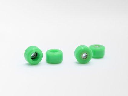Fingerboard kolečka - Zelená