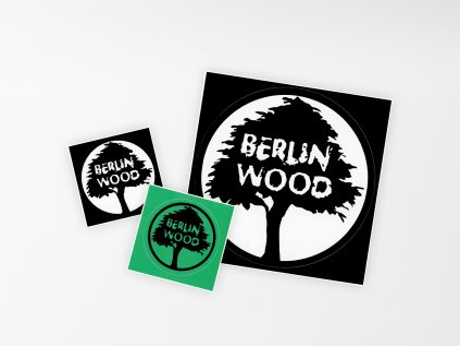 Samolepka BerlinWood