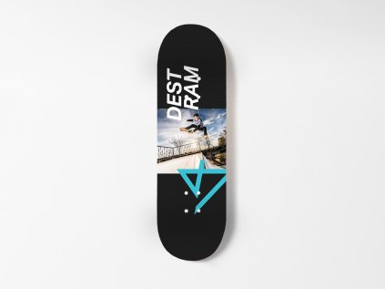 Dřevěná fingerboard deska TEAM Sk8