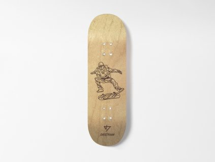 Dřevěná fingerboard deska SKETCH Kickflip
