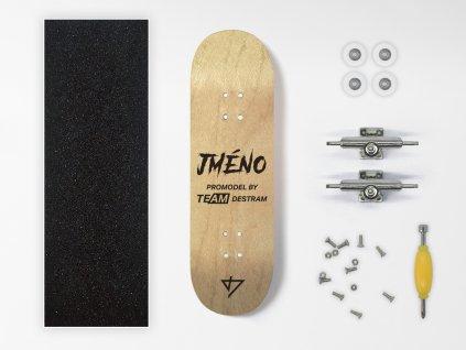 Dřevěný fingerboard komplet PROMODEL