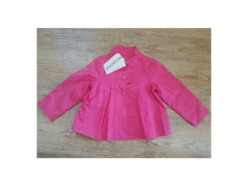 NOVÝ kabátek růžový zn. MAYORAL Velikost 92a