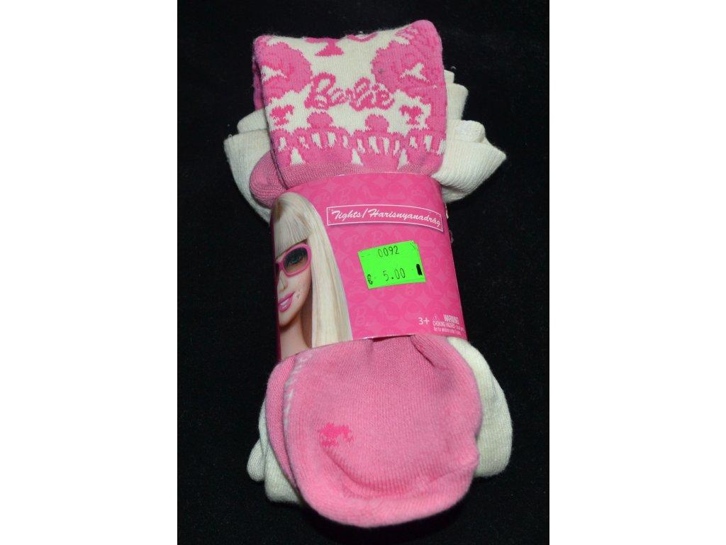 Teplé punčocháčky, zn. Barbie, vel. 98/104
