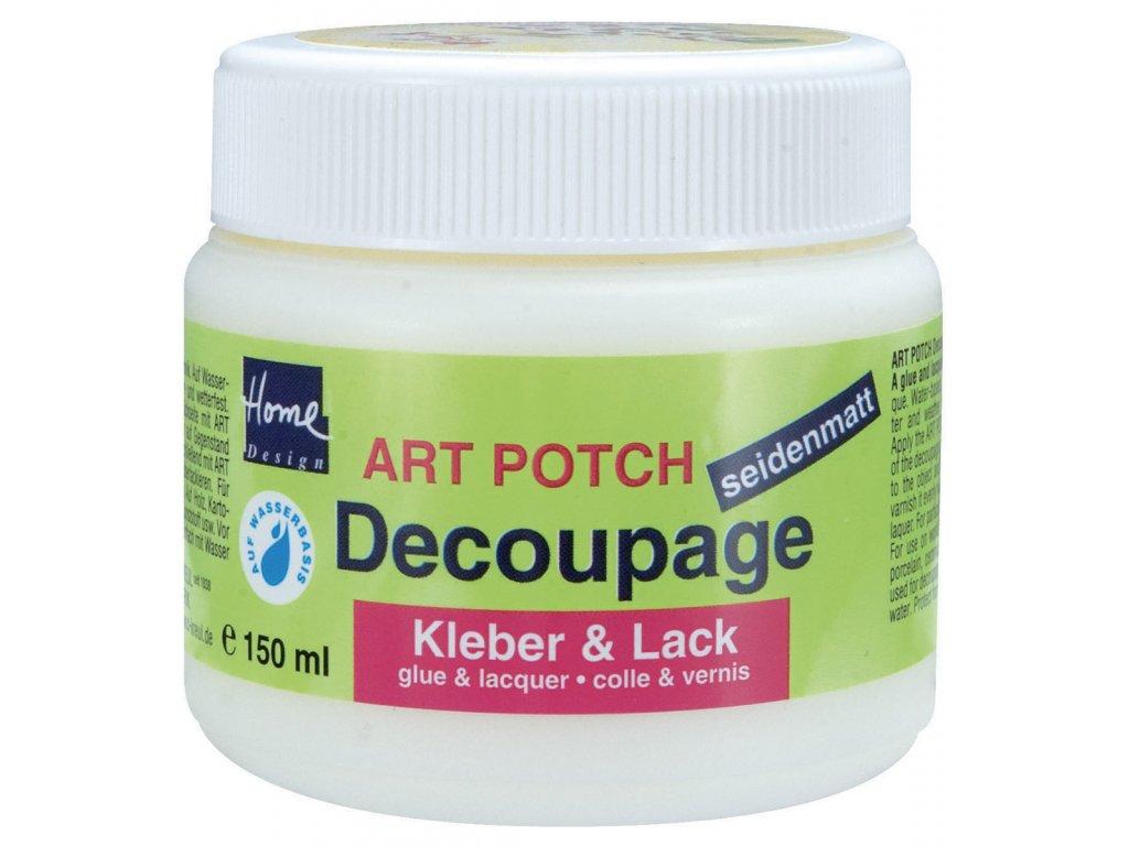 ART POTCH Decoupage Lepidlo a lak sametový 250 ml