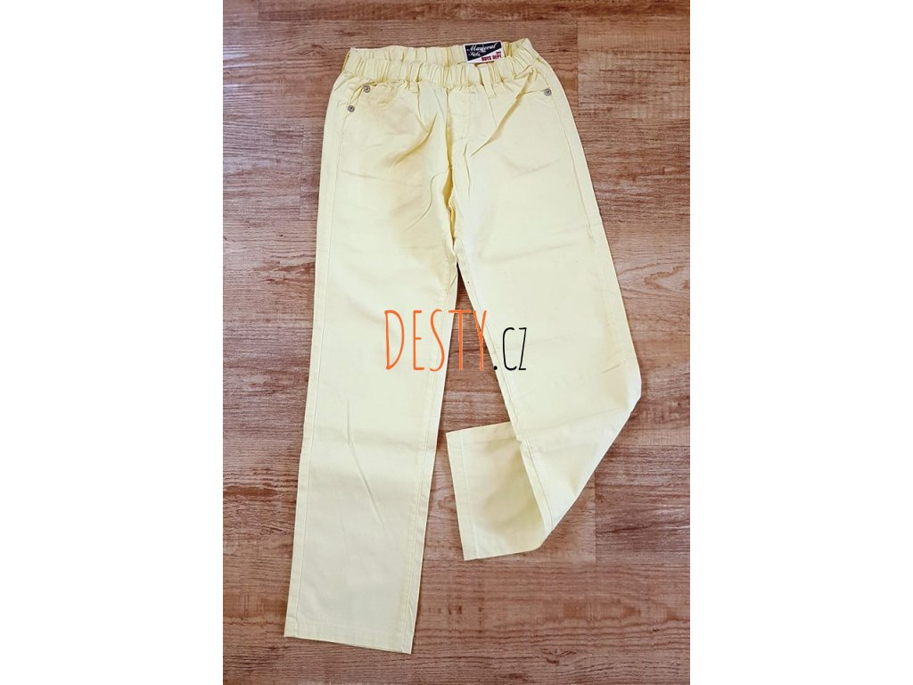 NOVÉ sv. žluté kalhoty zn. MAYORAL Velikost 128a