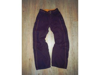 Zateplené kalhoty vel. 134