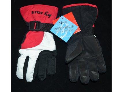 Lyžařské rukavice, zn. SAM, vel. 146/158