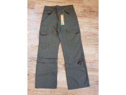 NOVÉ kalhoty 2v1 zn. HOTOIL Velikost 146a