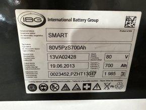rakční baterie 24V 250Ah ideální na soláry