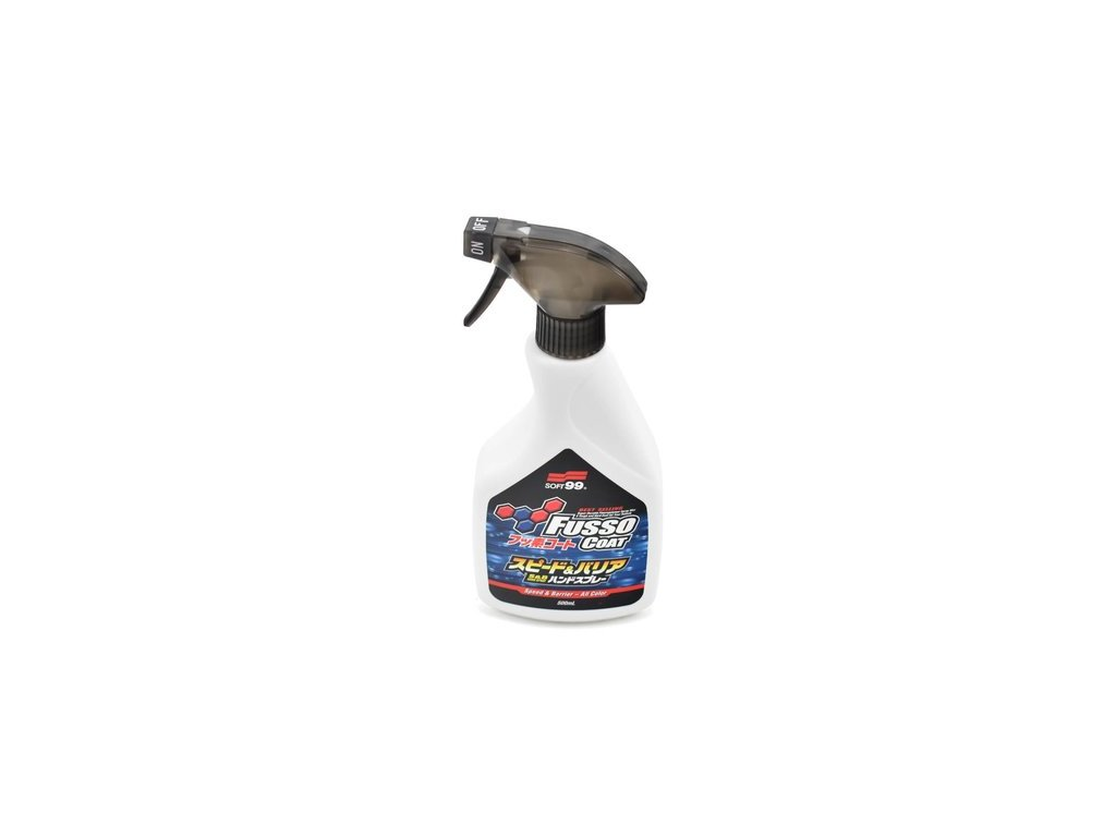 Soft99 Fusso Coat Speed & Barrier Hand Spray Up to 180 days 400 ml rychlý vosk
