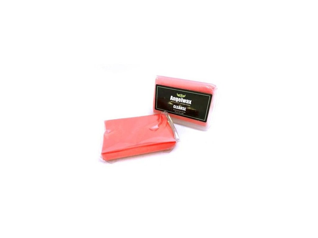 Angelwax Claybar Red Hard 100 g tvrdý clay
